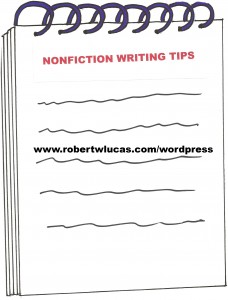 Tips for Nonfiction Writers