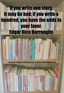 Inspirational Writing Quote - Edgar Rice Burroughs