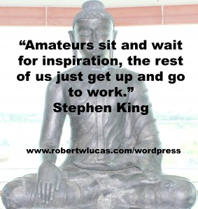 Inspirational Writing Quote - Stephen King
