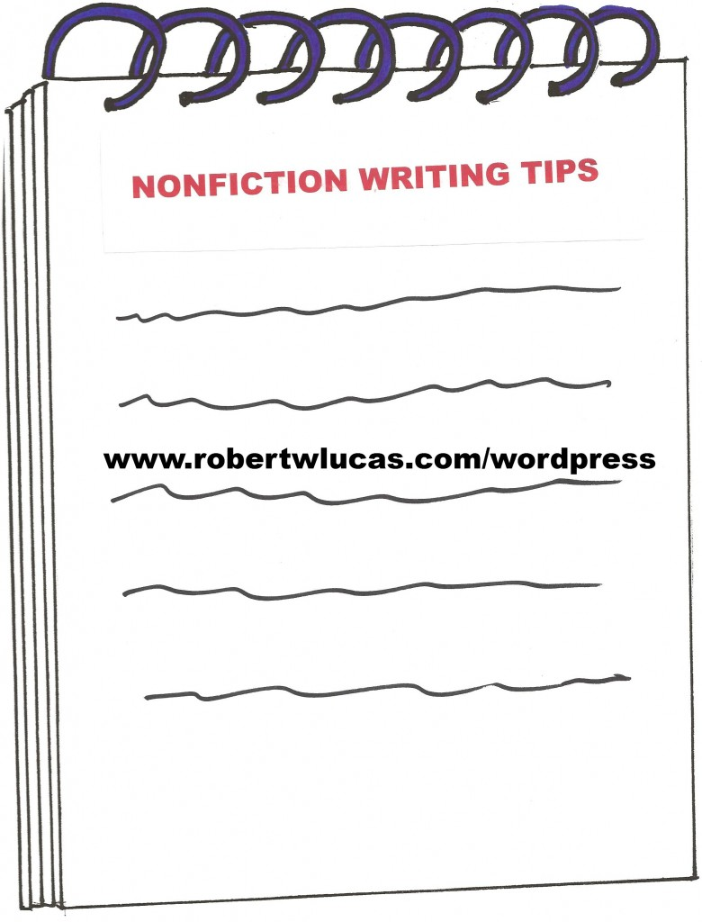 tips on writing a nonfiction book