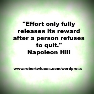 Inspirational Quote for Writers and Authors - Napoleon Hill