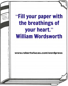 Writing Inspiration by William Wordsworth