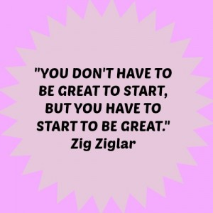 Dealing with Writer's Block and Motivational Quote for Writer's - Zig Zigler